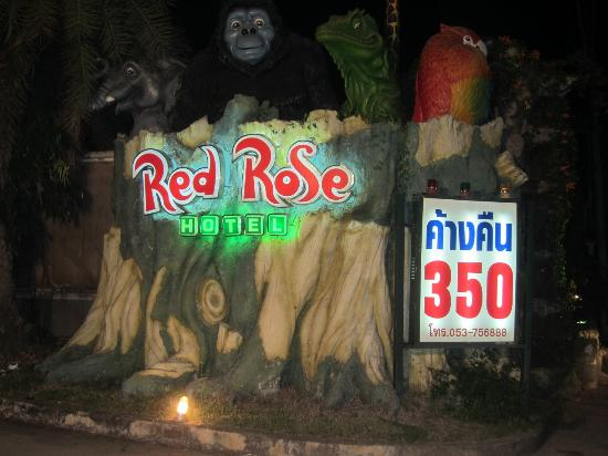 Red Rose Hotel: 夜の入り口