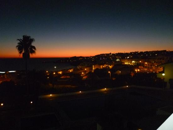 Hotel Almar: Sunset!