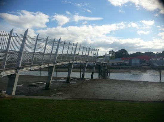 Whangarei, Selandia Baru: New Walking bridge