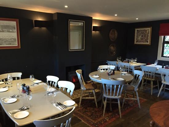 The Pinkneys Arms: The dining room