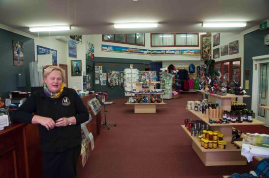The Glen Innes Visitor Information Centre: Inside the centre