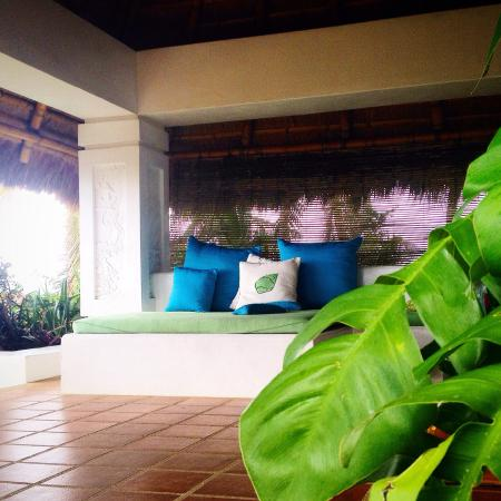 Villa Oceana Boracay: Great perch to see the whole of white beach