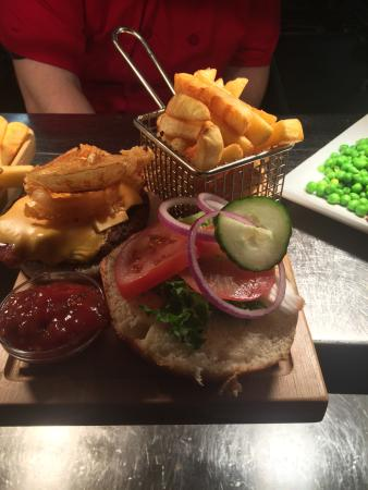 The Star Inn: Star inn burger