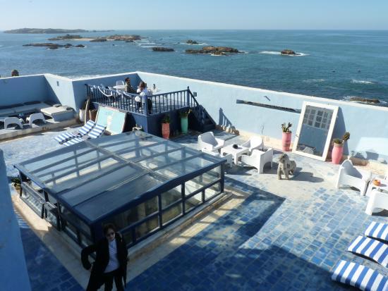 La maison des artistes: Super terrace at best location