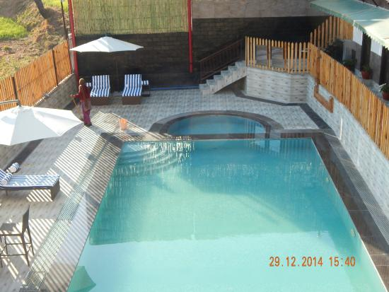 Swimming pool picture of fortune park moksha mcleod - Hotels in dharamshala with swimming pool ...