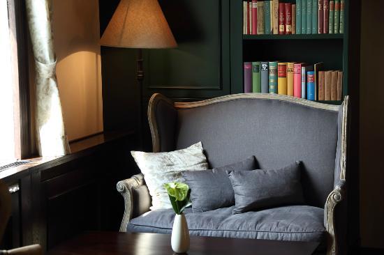 Hotel FreiWerk: Bibliothek