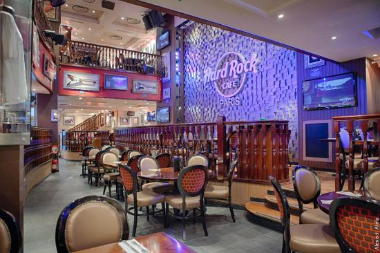 Photo of American Restaurant Hard Rock Cafe Paris at 14, Boulevard Montmartre, Paris 75009, France
