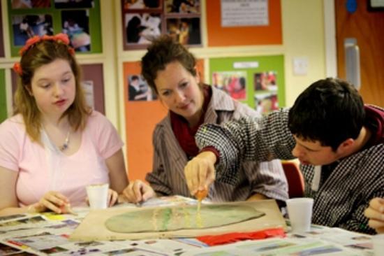 Devon Guild of Craftsmen: Our work with Ellen Tinkham School Exeter