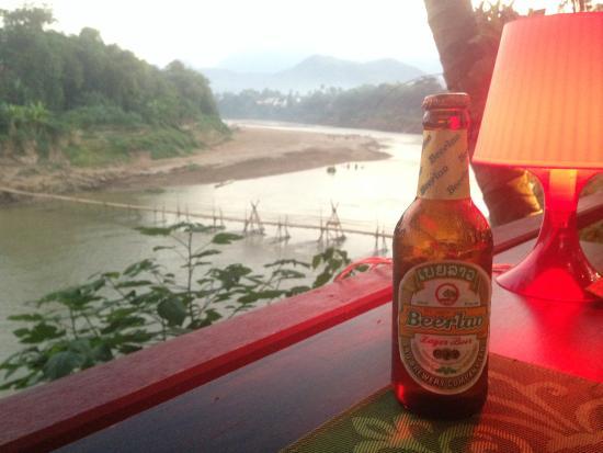 Villa Nagara: View from hotel dining area