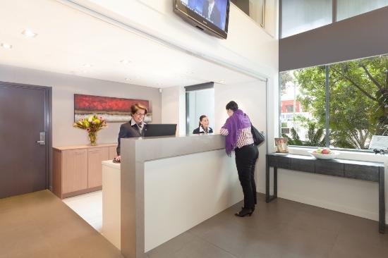 Quest Mascot Serviced Apartments: Reception Area