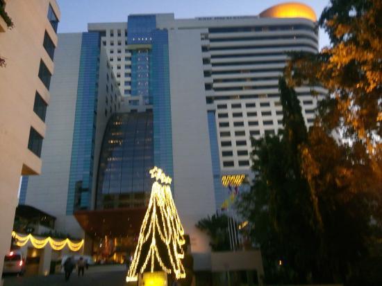 Avani Atrium Bangkok Hotel During Christmas