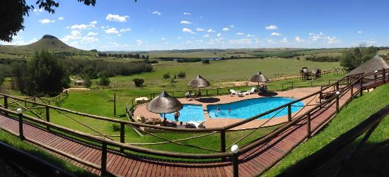 Lionsrock Lodge: The view from our room (room10)