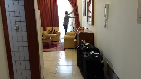 La Villa Najd: Entrance of the room