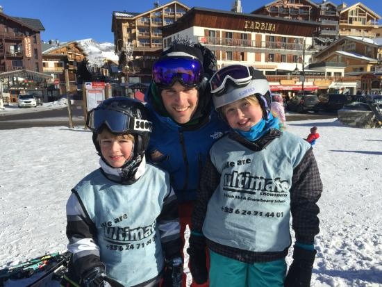 Ultimate Snowsports Tignes: Thomas, Ben and Erin
