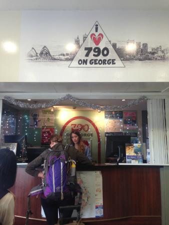 790 on George: lobby