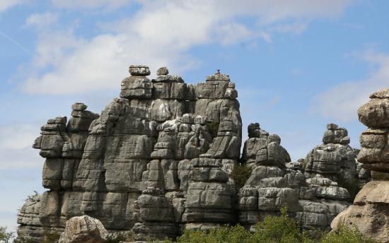 Paraje Natural Torcal de Antequera: Горный козел на вершине