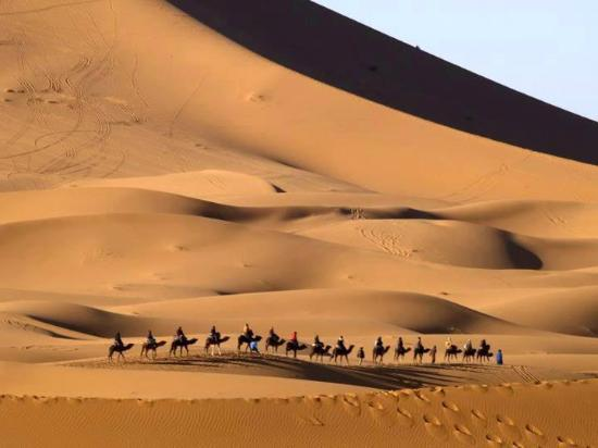 Midelt, Marokko: desert