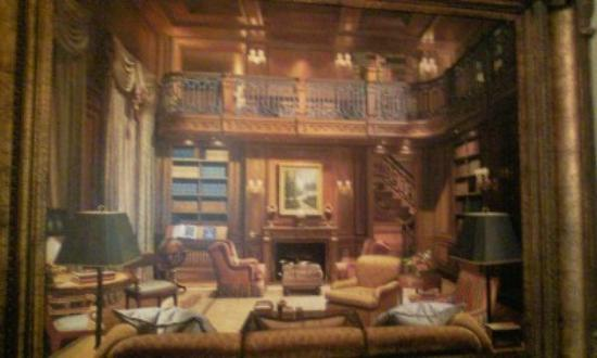 Oheka Castle: Picture of Great Library