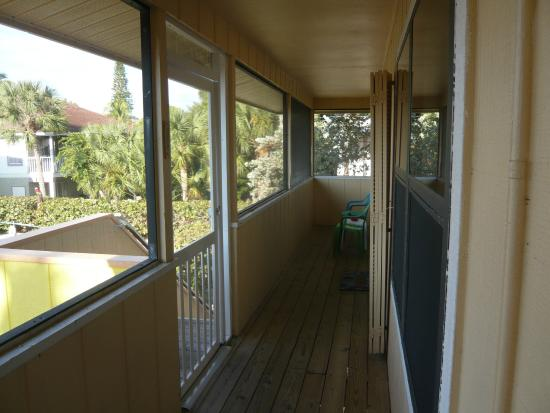Palm Terrace Resort: Balcon appartement