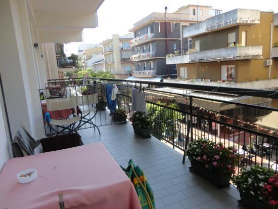 Hotel Major Cattolica: Balcone