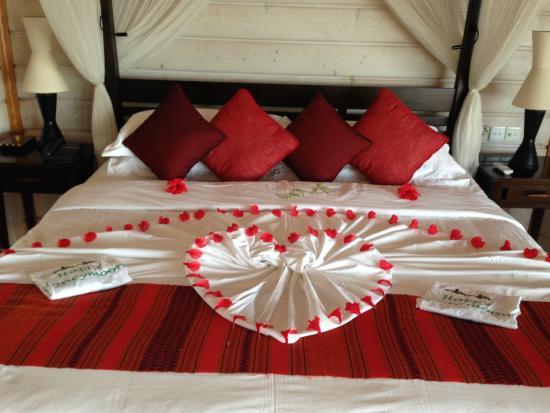 Komandoo Maldives Island Resort: Room Decoration For Our Honeymoon