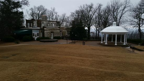 Burritt on the Mountain: Partial View of the Burritt Mansion and Gazebo