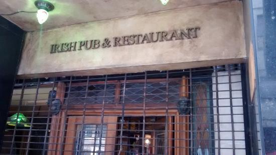 The Temple Bar: Fachada