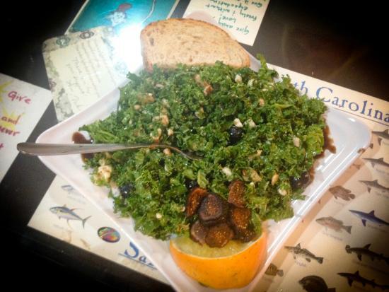 Delisheeyo: Massaged Kale Salad
