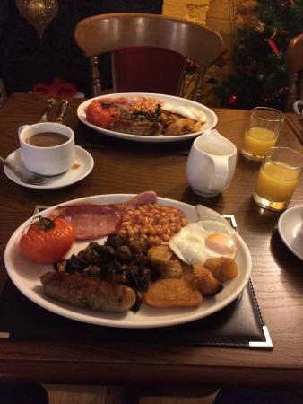 The Castle Inn Hotel: Breakfast