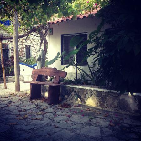 Posada Amor: Petite cour intérieure