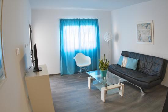 Margarita Napa Apartments Superior Living Room
