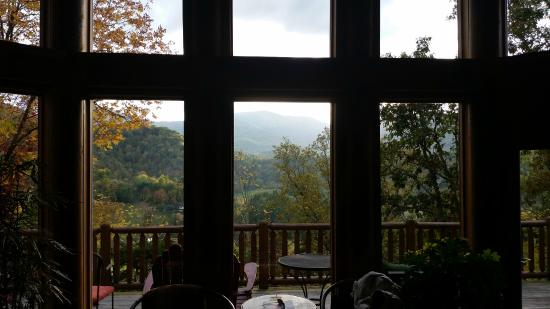 Wildberry Lodge: View from the Honeymoon Suite