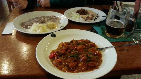 U Salzmannu - Pub and Penzion: Закуски