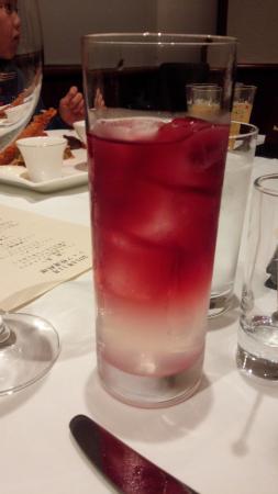 Hotel Harvest Kinugawa : ホテル内レストランのカクテル