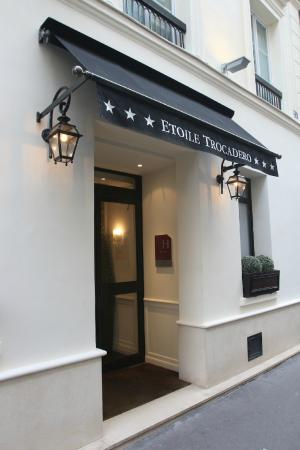Hotel Etoile Trocadero: Facade