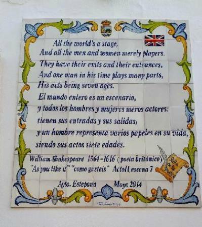 Ruta de la Poesia : Shakespeare