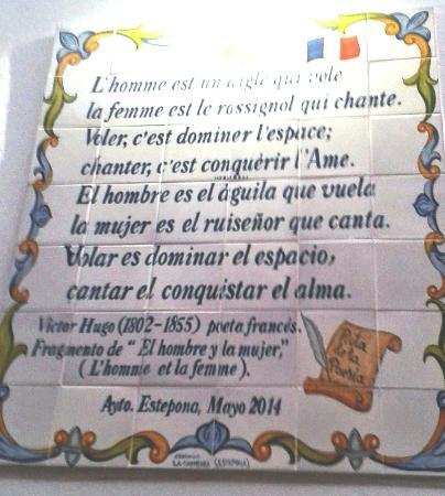 Ruta de la Poesia : French - Victor Hugo