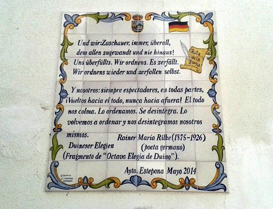 Ruta de la Poesia : German