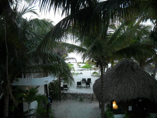 Casa Iguana Holbox: Beautiful view with the sound of the sea
