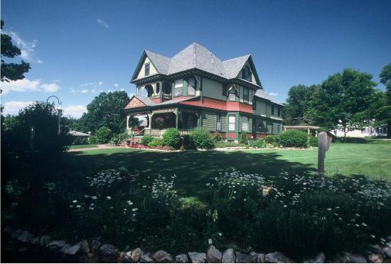 Southeast view of the Habberstad House Bed and Breakfast