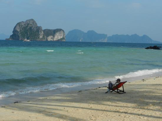 Koh Ngai Thanya Beach Resort: a man can get used to this