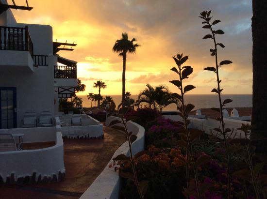 Hotel Jardin Tecina : Sonnenaufgang