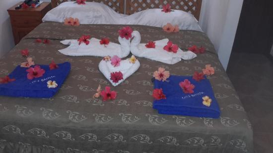 Chez Batista Villas: bedding facilities