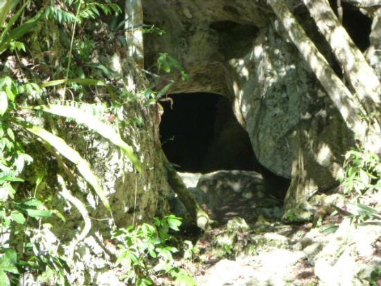 La Altagracia Province, Dominican Republic: Cave entrance.