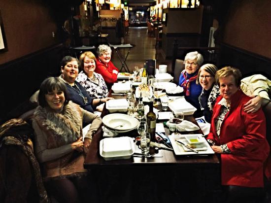 Caroline's Restaurant: BCFH celebration of 70th birthdays.