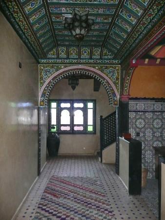 Riad Jnane Imlil : Communal area in the riad