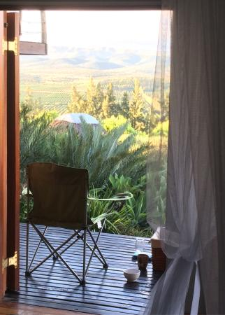 Addo Dung Beetle Guest Farm: Gorgeous views and sounds from our balcony!
