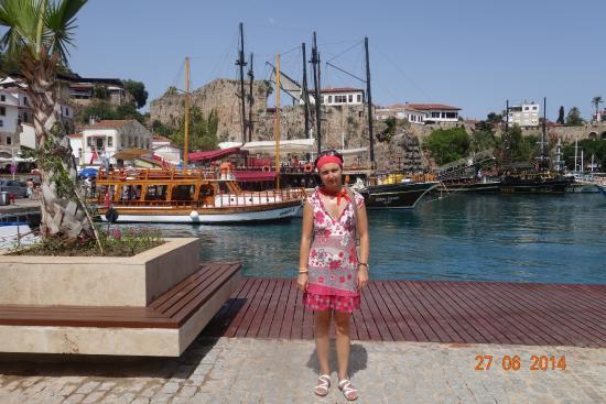 Karaalioglu Park : гавань в Старой Анталии