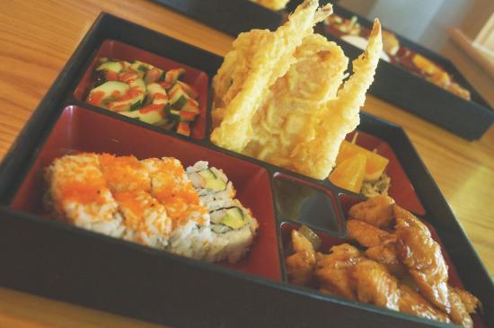 Osaka Japanese Hibachi Steakhouse & Sushi Bar: Combo Bento Box