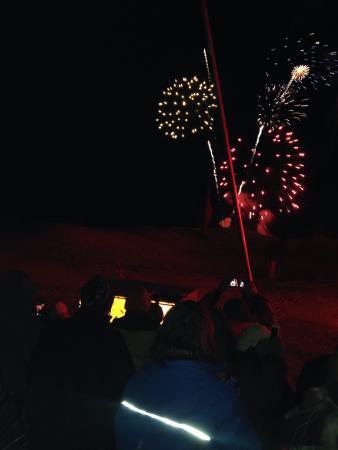 Scribner's Catskills Lodge: Fireworks